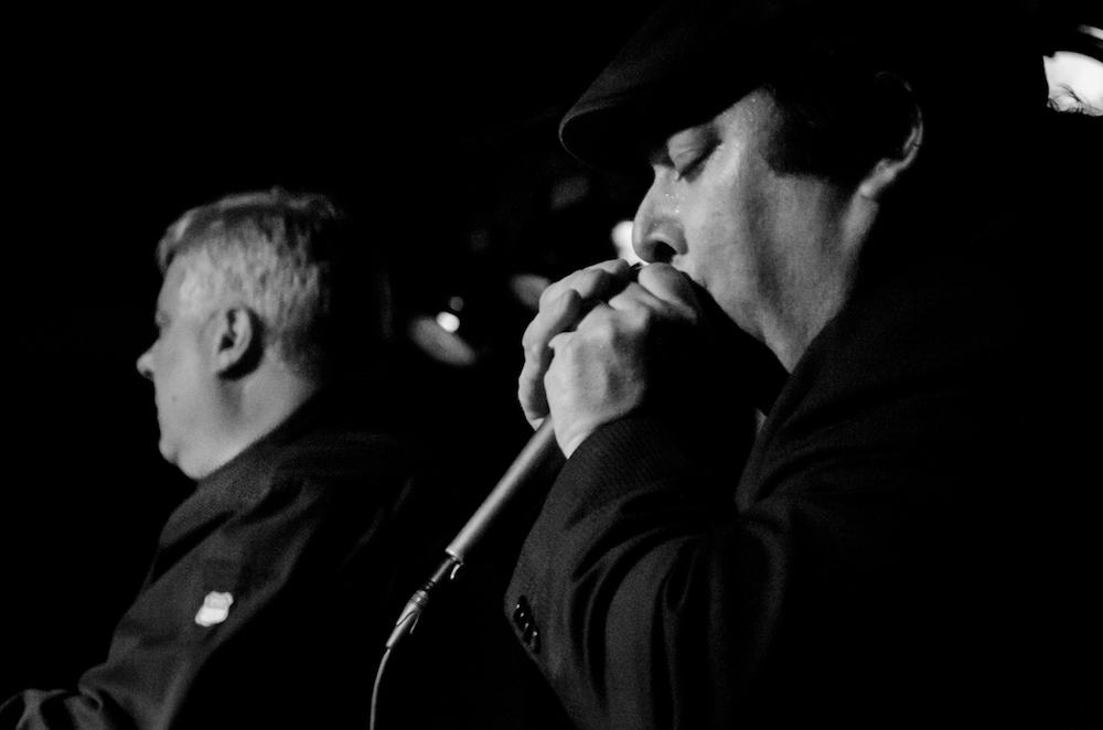 Shaky Dave on the Harmonica